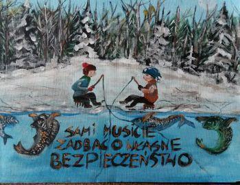 """Prace dzieci na konkurs z tytułu """" Tygodnia czystości Wód"""" 2017"""