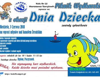 Piknik Wędkarski koła 3.06.2018